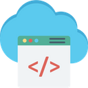 Cloud development Icon