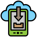 Download Data Cloud Computing Icon