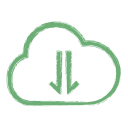 Cloud Download Info Icon