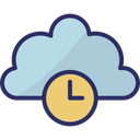 Cloud history Icon