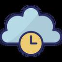 Cloud History Icon