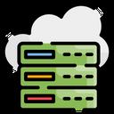 Backup Cloud Hosting Icon