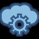 Admin Panel Cloud Computing Cloud Preferences Icon
