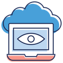 Cloud Monitoring Icon