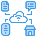 Cloud Data Connection Icon