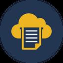 Cloud Paper Cloud Print Cloud Printing Icon