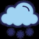 Cloud Snow Cold Icon