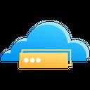 Cloud Storage Cloud Computing Data Storage Icon