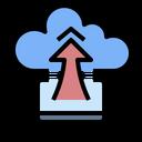 Cloud Storage Computer Icon