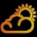 Sun Overcast Weather Icon