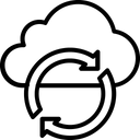 Synchronization Sync Loading Arrows Icon