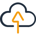 Cloud Upload Cloud Uploading Cloud Data Icon