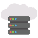 Cloud Web Hosting Online Hosting Online Data Storage Icon