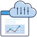 Cloud Computing Cloud Data Cloud Website Icon