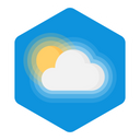 Cloudy Sunny Atmosphere Icon