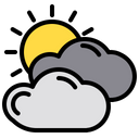 Overcast Cloud Weather Icon