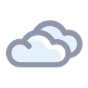 Cloudy Weather Forecast Icon