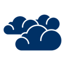 Weather Cloudy Clouds Icon