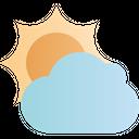 Spring Season Cloudy Icon
