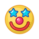 Clown Party Fun Icon