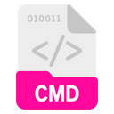 Cmd File Format Icon