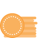 Coaster Printing On Coaster Copyspace Icon