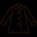 Coat Jacket Winter Icon