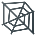 Cobweb Spider Web Icon