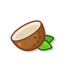Coconut Sweet Food Icon