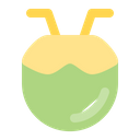 Drink Coconut Drink Fresh Icon
