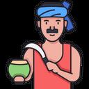 Coconut Seller Icon