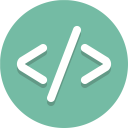 Dev Coding Development Icon