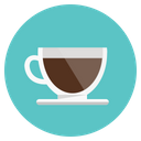 Cafe Coffee Cup Icon