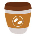 Coffe Thirsty Drink Icon