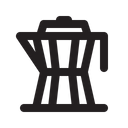Moka Pot Coffee Drink Icon