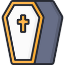 Coffin Casket Death Icon