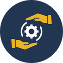 Cogwheel Driving Force Force Icon