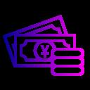 Coin Money Yuan Icon