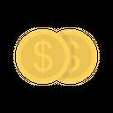 Dollar Coin Money Icon