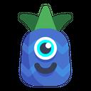 Pineapple Emoji Cold Icon