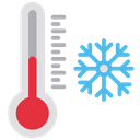 Cold Temprature Icon