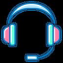 Coll Center Headphones Headphone Icon