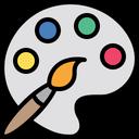 Color Color Plate Color Palette Icon