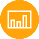 Column Graph Chart Icon