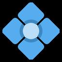 Comic Diamond Geometric Icon