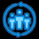Communication Group Management Icon