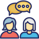 Communication Consulting Conversation Icon