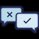 Communication Customer True False Icon