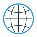 Communication Connection Earth Icon