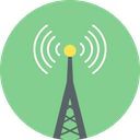 Communication Tower Wifi Tower Wifi Antenna Icon